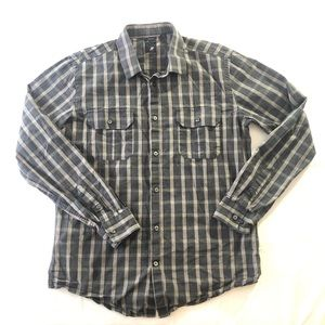 Large 16-16 1/2 JF Slim Fit Button Down Shirt
